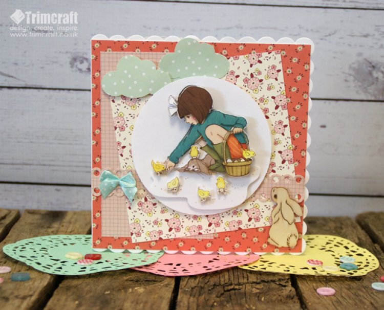 Belle And Boo Card Tutorial With To The Craft Blog