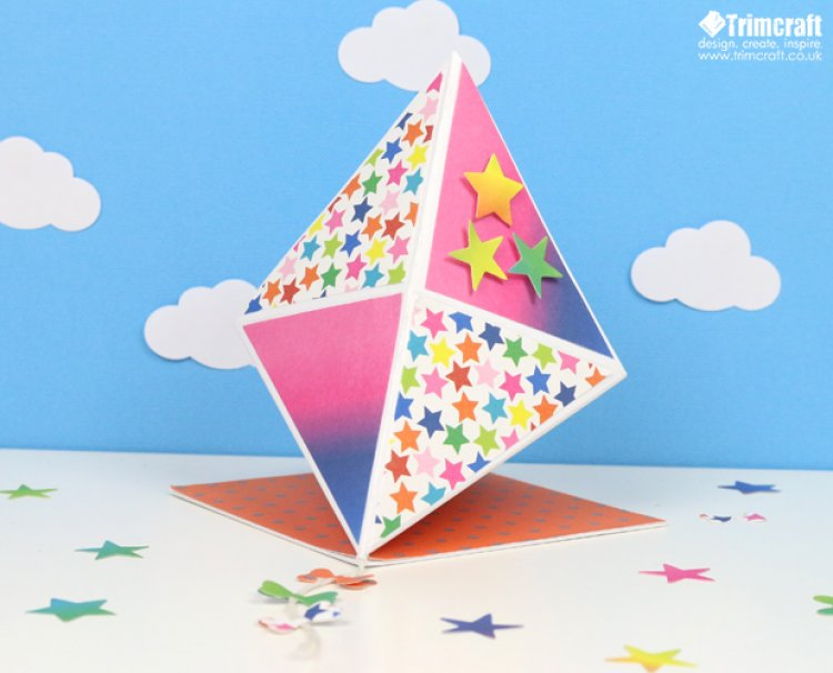 Card shape of the month 3d kite ca the craft blog for Craft of the month