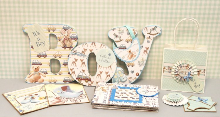 4f9b52919515 DIY Baby Shower Party Craft Ideas W...