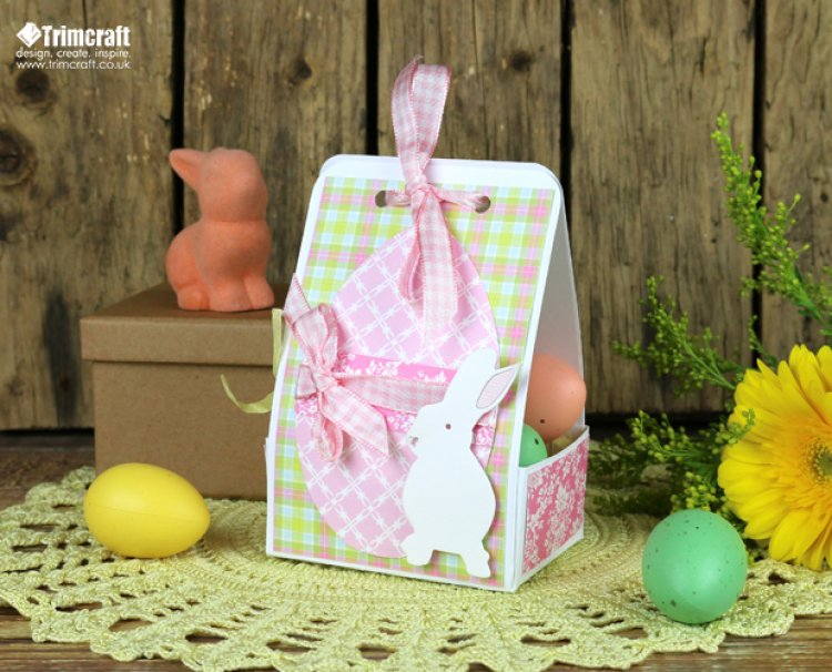 Diy easter gift box tutorial with f the craft blog blog march 2016 diy easter gift box tutorial with free template negle Choice Image