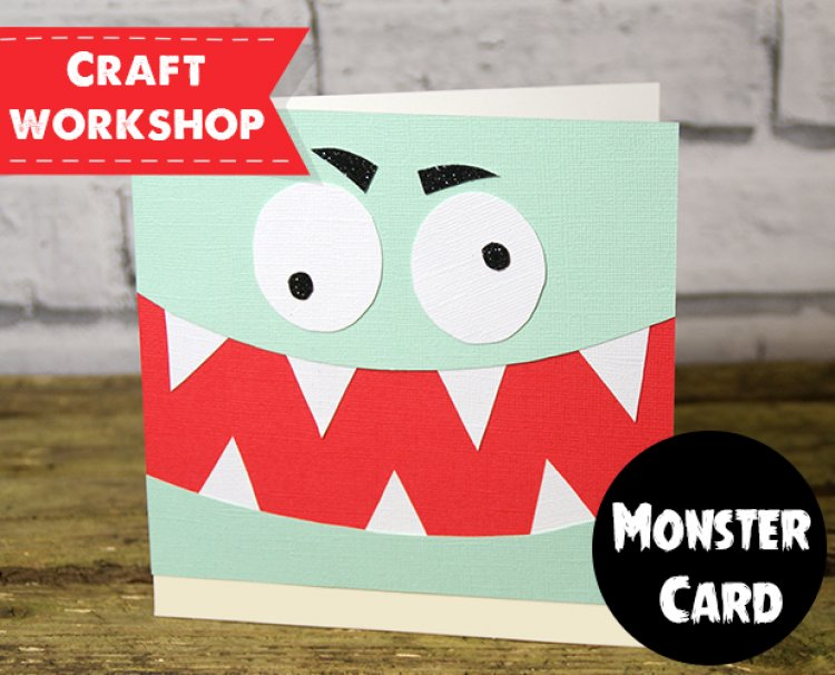 Diy monster card tutorial perfect f the craft blog blog november 2015 diy monster card tutorial perfect for birthdays party invites stopboris Image collections