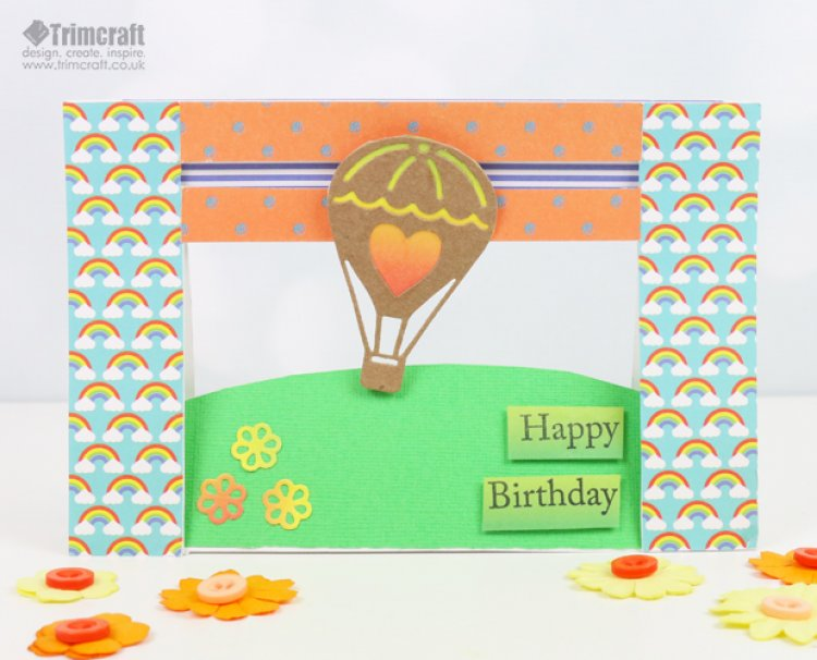 Dovecraft Dies Penny Spinner Card T... | The Craft Blog