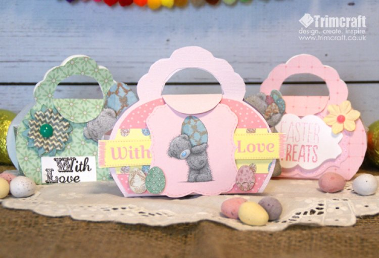 Easter me to you mini gift bag tuto the craft blog blog march 2015 easter me to you mini gift bag tutorial with free template negle Gallery
