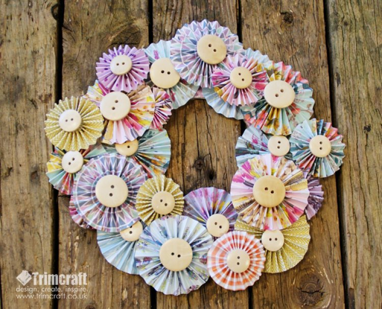 First Edition Paper Flowers Accordi The Craft Blog