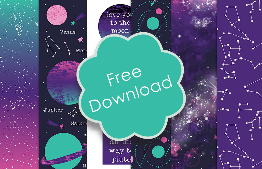 picture regarding Printable Design identify Totally free Printable Galaxy Paper Downloa The Craft Weblog