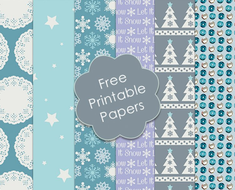 image relating to Printable Decorative Paper known as Totally free Trimcraft Printable Xmas  The Craft Website
