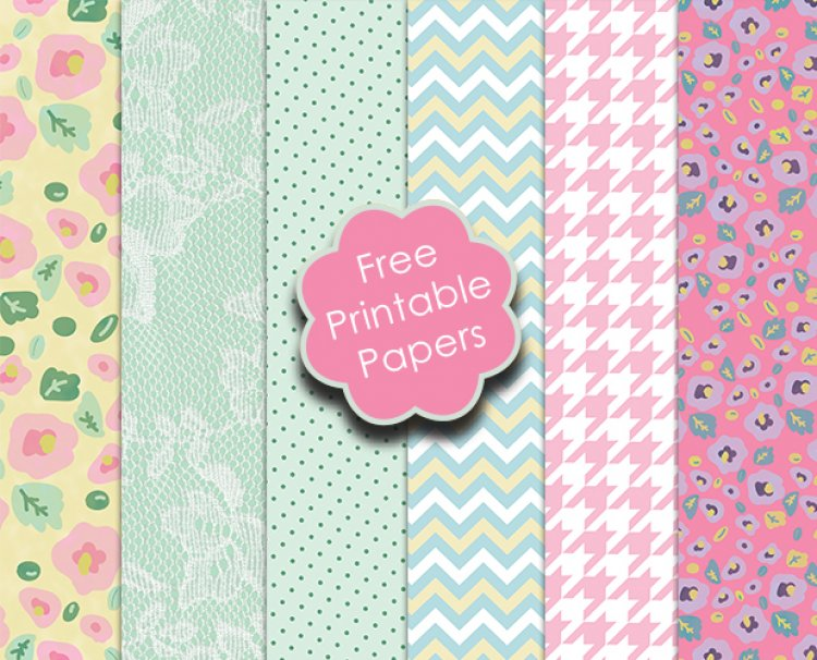 - Free Trimcraft Printable Papers and... | The Craft Blog