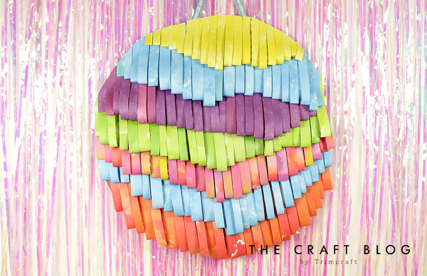 Video Tutorial Diy Paper Wall Hanging The Craft Blog