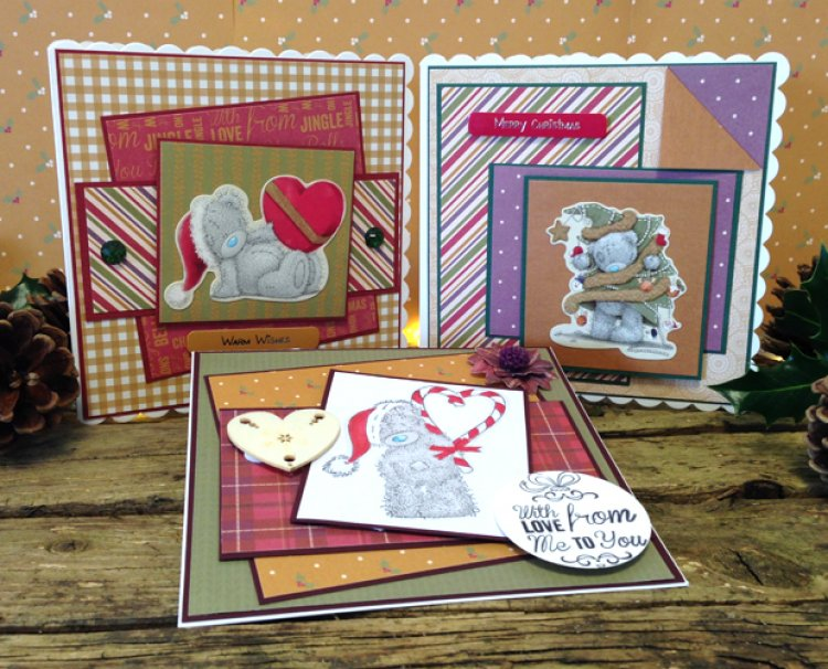 Tatty Teddy is back With 3 Great Me... | The Craft Blog