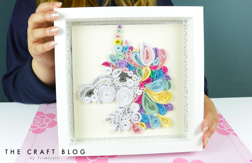 Diy Unicorn Quilling Tutorial With The Craft Blog