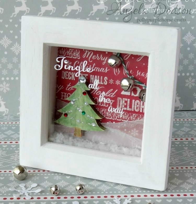 Mini Box Frame With First Editio Craft Inspiration